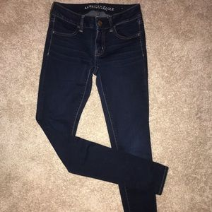 American Eagle Dark Wash Long Jeans